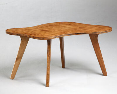 José Zanine Caldas, 'Organically shaped side table', 1950s