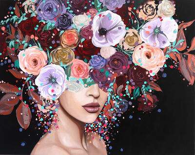 Sally K, 'Amathyst Bloom', 2019
