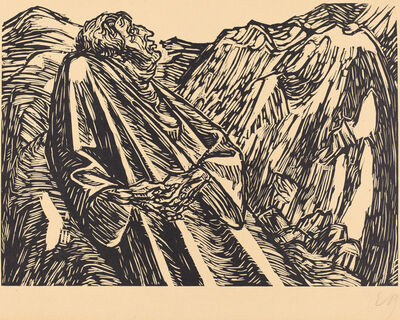 Ernst Barlach, 'The Cliffs', 1920