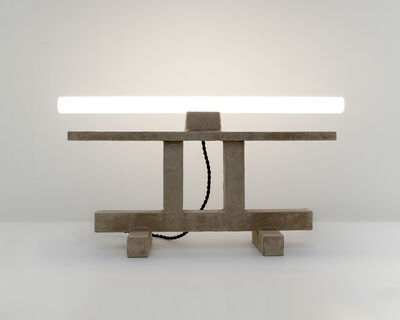 Fredrik Paulsen, 'Stoned Table Lamp', 2015