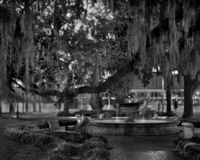 Matthew Pillsbury, 'Nathan Noland, Orleans Square, Savannah, Georgia, Sunday, January 13th, 2008, 5:52-6:02pm', 2008