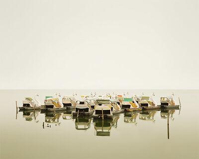 David Burdeny, 'Swan Boats, Hanoi, Vietnam'