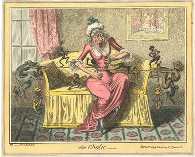 George Cruikshank, 'The Cholic'