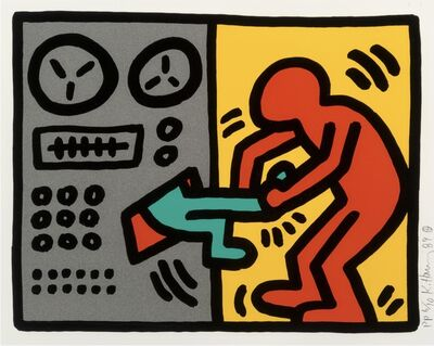 Keith Haring, 'Pop Shop III, (1)', 1989