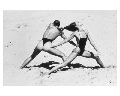 Helmut Newton, 'Beach Excercise ', 1975