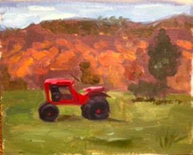 Kristin Kruc, 'Red Tractor', 2020