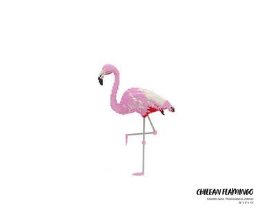 Nathan Sawaya, 'Chilean Flamingo', 2019