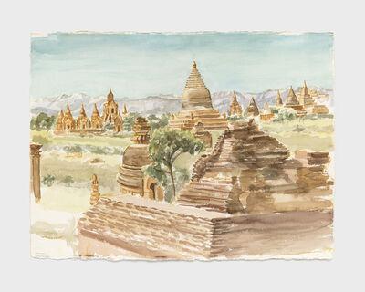 Philip Pearlstein, 'Pagan, Burma', 1997-1998