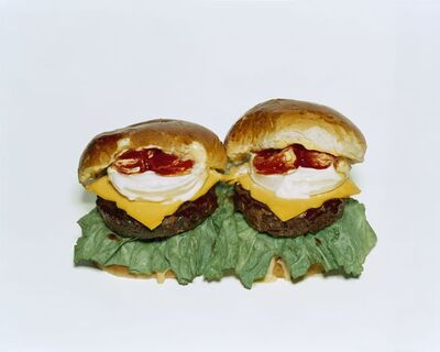 Sharon Core, 'Two Cheeseburgers with Everything', 2006/2018