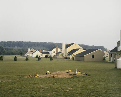 Joel Sternfeld, 'Buckingham, Pennesylvania, August 1978', 1978