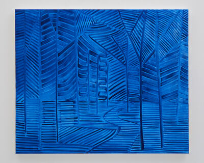 Benjamin Butler, 'Blue (Forest Path)', 2019