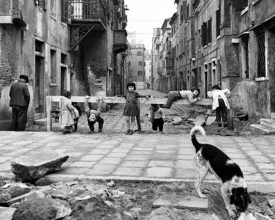 Elio Ciol, 'Giochi A Chioggia (Games in Chioggia) ', Chioggia 1961