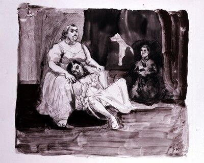 Paula Rego, 'Jane Eyre, Poetry and Story Series: The Keeper', 2002