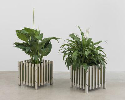 Ettore Sottsass, 'Portafiori (pair of planters)', 1961