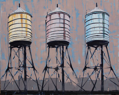 Stephanie Hartshorn, 'Towers Three', 2014