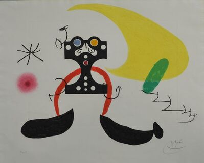 Joan Miró, 'Le Cosmonaute', 1969