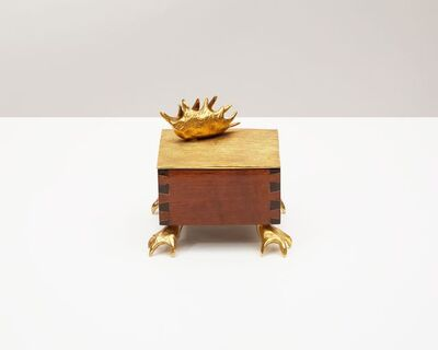 "Aldus, '""Dionaea"" Footed Box ', 2013"
