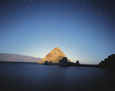 Mark Klett, 'The Pyramid by Moonlight, Pyramid Lake, Nevada, 9/15/00', 2000