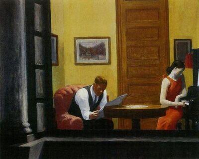 Edward Hopper, 'Room in New York', 21st Century
