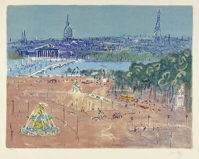 Jean Dufy, 'Place de la Concorde', 1935