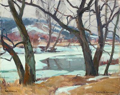 Emile Albert Gruppe, 'Winter, Vermont', ca. 1970