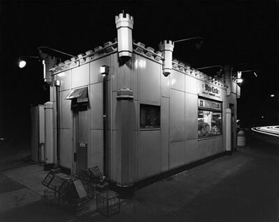 George Tice, 'White Castle, Route #1, Rahway, NJ', 1973