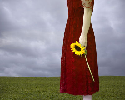 Patty Maher, 'Red Dress, Yellow Flower', 2017