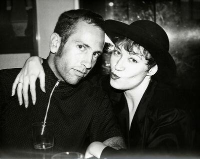 Andy Warhol, 'Kenny Scharf & Ann Magnuson', ca. 1984