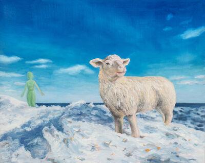 Kendra Lynn Bulgrin, 'Arctic Dreams with Sheep', 2018