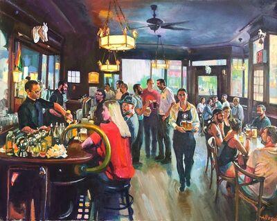 Alexander Masyk, 'White Horse Tavern', 2019