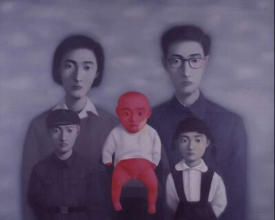 Zhang Xiaogang, 'The Red Baby', 2009