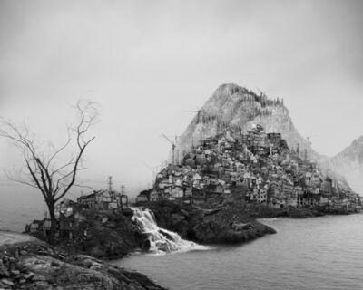 Yang Yongliang 杨泳梁, '太古蜃市 - 急流 Time Immemorial - Flooding', 2016