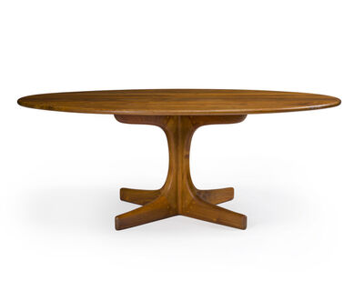 Sam Maloof, 'Oval cocktail table, No. 38', 1975