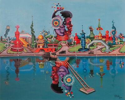Monsengo Shula, 'La ville du futur ', 2016
