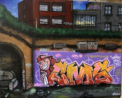 Butch  butch, 'Graffiti, Paris, Mars 2011', 2011