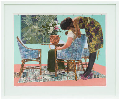 Njideka Akunyili Crosby, 'Blend In - Stand Out limited release poster', 2020