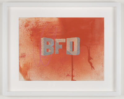 Wayne White, 'BFD', 2019