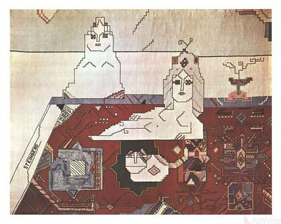 Saul Steinberg, 'Persian Rug', 1977