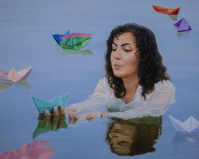 Pegah Samaie, 'Float Away from This Land', 2021