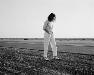 Mimi Plumb, 'Woman on the Road', 1987