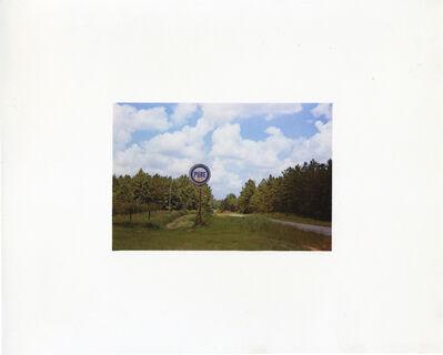 William Christenberry, 'Pure Oil Sign in Landscape, 1977', 1981