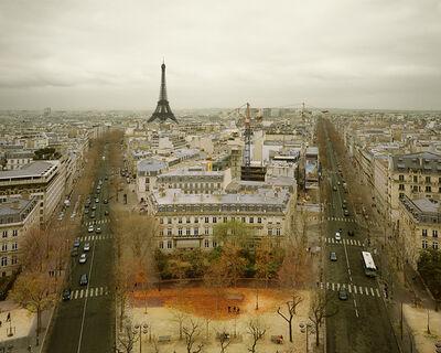 David Burdeny, 'Paris from the Arc de Triomphe, Paris', 2010