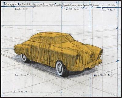 Christo, 'Wrapped Automobile', 2015