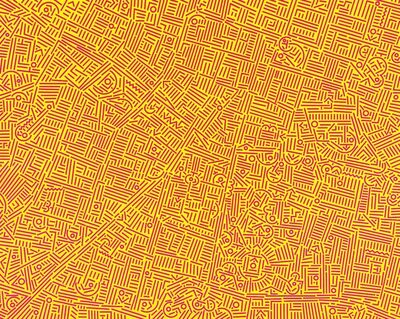 Lu Xinjian 陆新建, 'City DNA Santa Fe', 2015