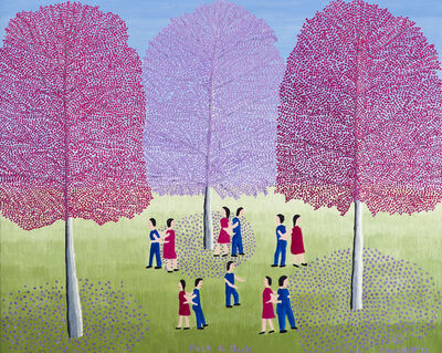 Theora Hamblett, 'Stealing Sticks', 1967