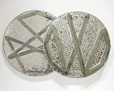 Monir Farmanfarmaian, 'Nonagon and Decagon', 2009