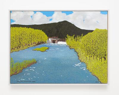 Jessie Homer French, 'Leaburg Dam - Mckenzie River - Spring', 2011