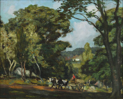 George Ames Aldrich, 'Country Road'