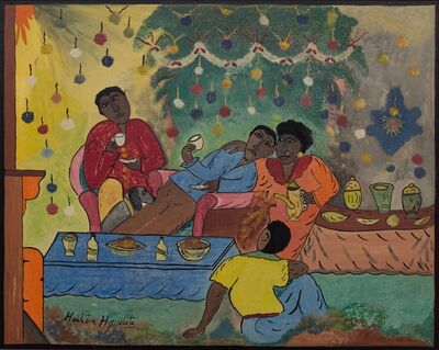 Hector Hyppolite, 'New Year's Day', ca. 1948
