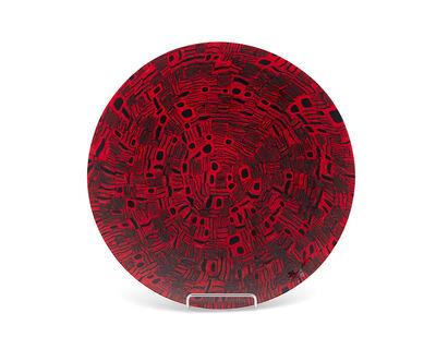 Venini, 'A Venini/Vetri Murano art glass plate'